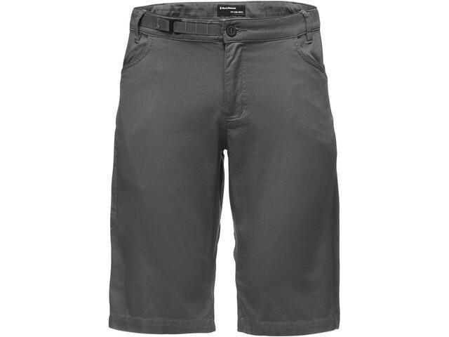 Black Diamond Credo Spodnie krótkie Mężczyźni, carbon